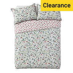 Argos Home Mistletoe Floral Bedding Set - Superking