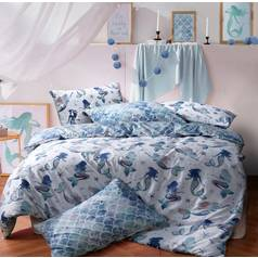 Argos Home Mermaid Bedding Set - Double