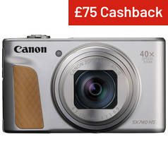 Canon PowerShot SX740HS 20.3MP 40x Zoom Camera - Silver