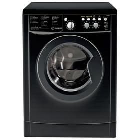 Indesit IWC71252ECOK 7KG 1200 Spin Washing Machine - Black Best Price, Cheapest Prices