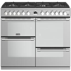 Stoves Sterling S1000DF Dual Fuel Range Cooker - S/Steel