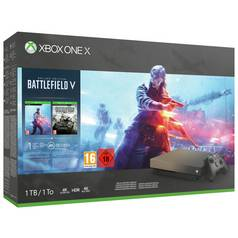 Xbox One X Gold Rush Edn 1TB Console & Battlefield V Bundle