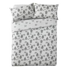 Argos Home Penguin Brushed Cotton Bedding Set - Double