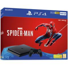 Sony PS4 500GB Marvel's Spiderman Console & Game Bundle