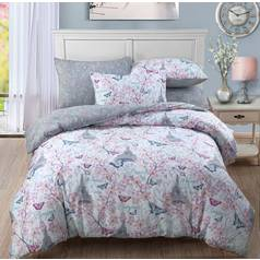 Argos Home Paris Blossom Bedding Set - Single