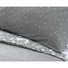 Argos Home Stag Print Brushed Cotton Bedding Set - Superking