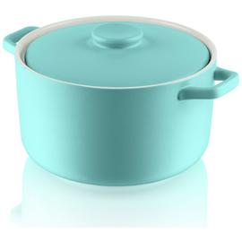 Fearne by Swan Medium Round Casserole Dish - Blue
