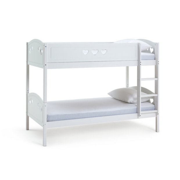 the best attitude 85206 47f6e Buy Argos Home Mia White Single Bunk Bed & 2 Kids Mattresses | Kids beds |  Argos