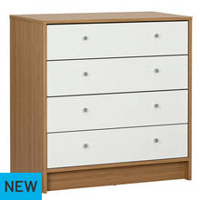 Argos Home Malibu 4 Drawer Wide Chest