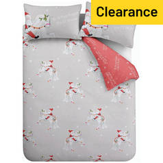 Catherine Lansfield Christmas Unicorn Bedding Set – Double