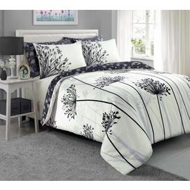 Argos Home Grey Meadow Bedding Set – Double