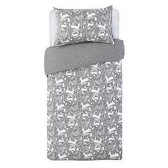 Argos Home Stag Print Brushed Cotton Bedding Set - Single