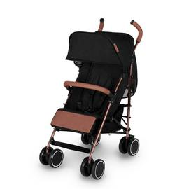 Ickle Bubba Discovery Stroller - Black on Rose Gold