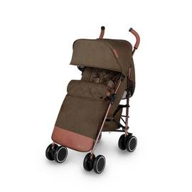 Ickle Bubba Discovery Max Stroller - Khaki on Rose Gold