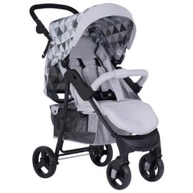 My Babiie Sam Faiers MB30 Geometric Pushchair - Monochrome