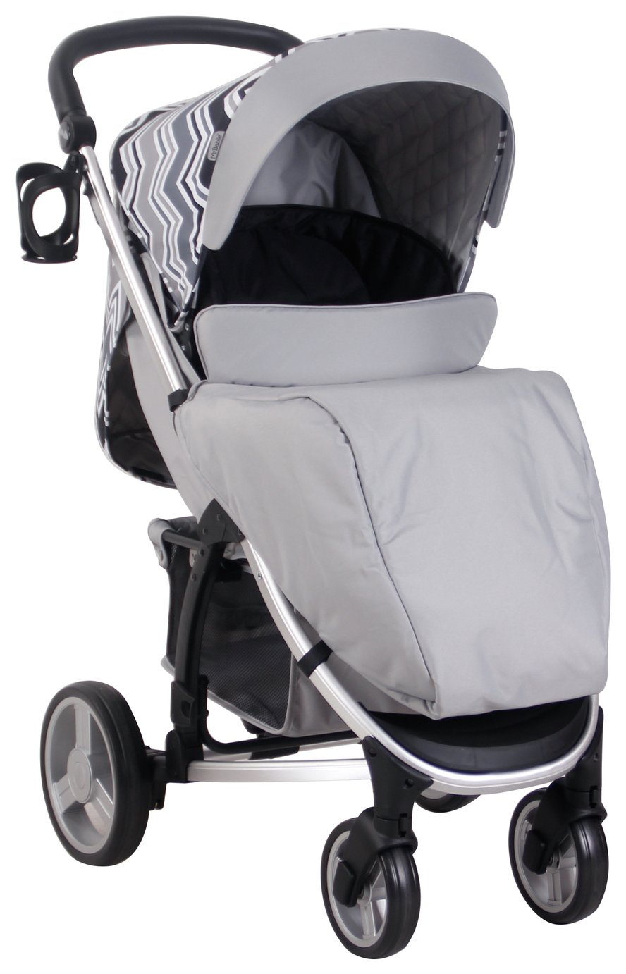 Buy Joie Litetrax 4 Wheel Stroller Chromium Pushchairs Argos