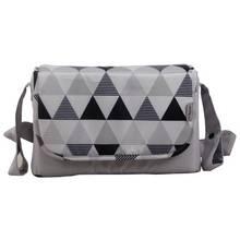 My Babiie Sam Faiers Changing Bag - Grey Geometric