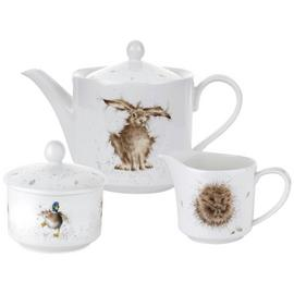 Royal Worcester 3 Piece Wrendale Tea Set