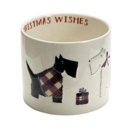 Sainsbury's Home Christmas Spice Scottie Dog Candle