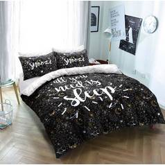 Argos Home Sleep Slogan Bedding Set - Single