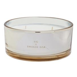 Sainsbury's Home Fig and Smoked Oak Extra Large Candle