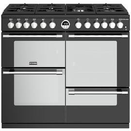 Stoves Sterling S1000DF Dual Fuel Range Cooker - Black