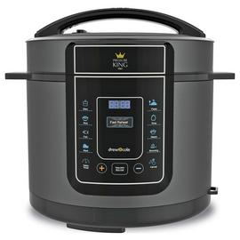 Pressure King Pro 12-in-1 5L Digital Pressure Cooker - Black