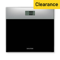Salter Glass Electronic Bathroom Scale