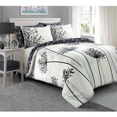 Argos Home Grey Meadow Bedding Set – Kingsize