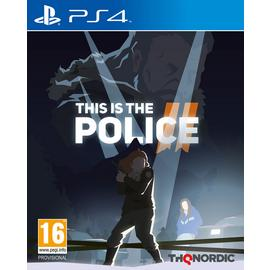 This is the Police 2 PS4 Game