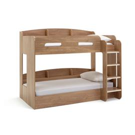 Argos Home Ultimate Oak Effect Bunk Bed