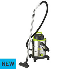 Guild 30 Litre Wet and Dry Vacuum Cleaner - 1500W