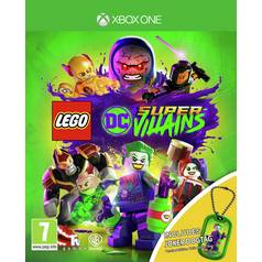 LEGO DC Supervillain Xbox One Game with Dog-Tag