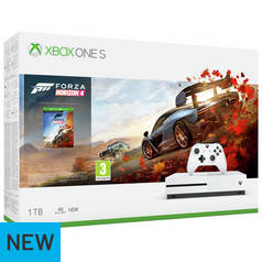 Xbox One S 1TB Console & Forza Horizon 4 Bundle