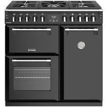 Stoves Richmond S900DF Dual Fuel Range Cooker - Black