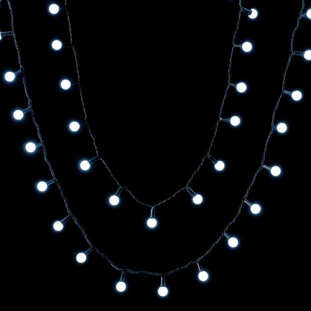 Buy Argos Home 160 Bright White Berry Led String Lights 14m Christmas Lights Argos