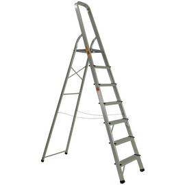 Rhino 7 Tread High Handrail Step Ladder