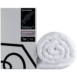 Habitat Duck Feather 10.5 Tog Duvet - Double