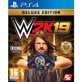 WWE 2K19 Deluxe Edition PS4 Game