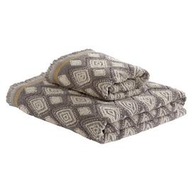 Argos Home Global Pattern 2 Piece Towel Bale