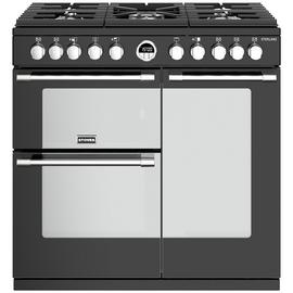 Stoves Sterling S900DF Electric Range Cooker - Black