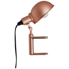 Habitat Tommy Clamp Lamp - Copper