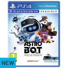 Astro Bot PS4 VR Game