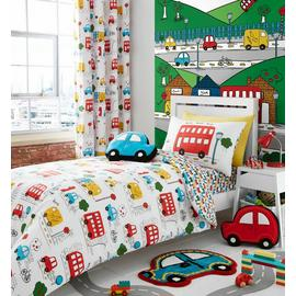Catherine Lansfield Transport Bedding Set ? Single