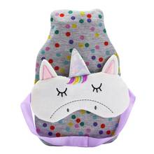 Rainbow Daydream Unicorn Hot Water Bottle and Eyemask Set