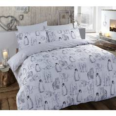 Argos Home Winter Animals Bedding Set - Kingsize