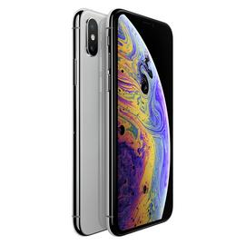 Sim Free iPhone Xs 64GB Mobile Phone - Silver