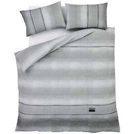 Catherine Lansfield Denim Grey Bedding Set – Kingsize