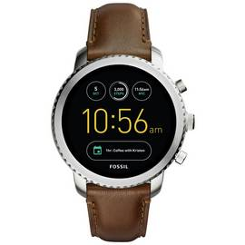 ae35dfd6a Fossil Explorist Gen 3 FTW4003 Smart Watch - Brown Leather