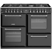 Stoves Richmond S1100DF Dual Fuel Range Cooker - Black
